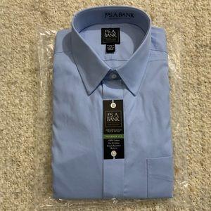 Jos A Bank Traveler Collection Dress Shirt 17-36